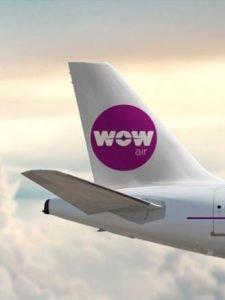 Viagens de baixo custo na Wow Air