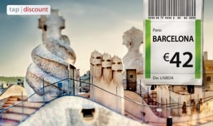 Voos baratos TAP Espanha