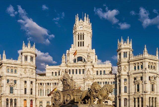 Voos baratos para Madrid