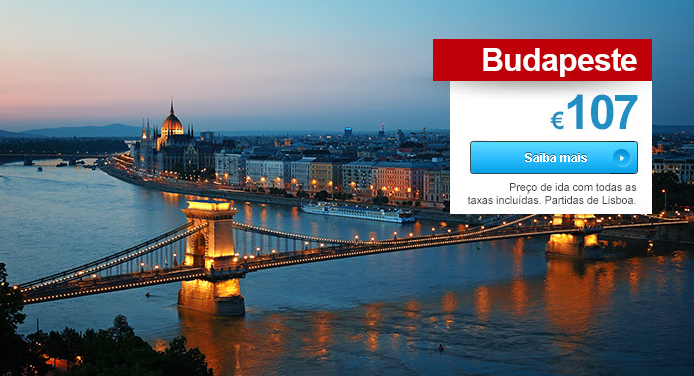 Voos para Budapeste