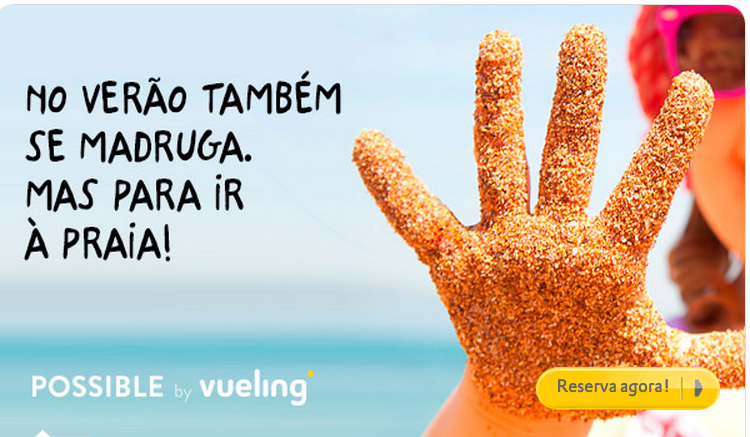 Voos low cost na Vueling
