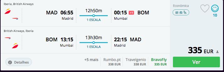 Voos na Iberia